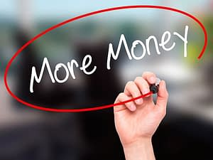 """The call for """"more money"""" boosts Your Number higher."""