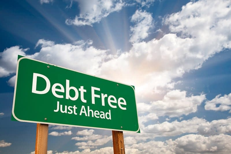 Signs point to your debt free future. Destroy your debt doctor.
