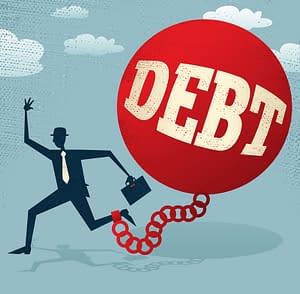 Debt feels like a ball and chain. Destroy your debt, doctor.
