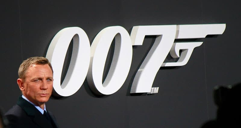 The picture of a James Bond actor reminds us of the difference between this bond and financial bonds.