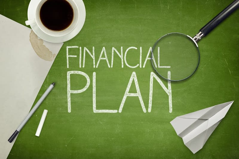 This is a picture of a financial plan. You need one too.