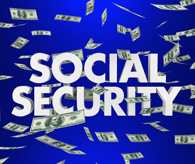 See Social Security as 100-dollar bills falling from the sky.