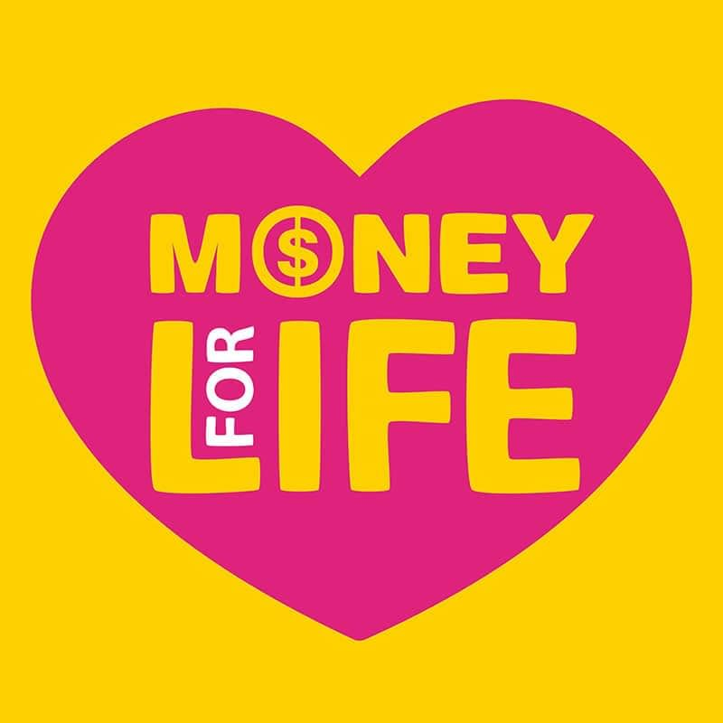 The words money for life are in this heart. It is a lovely thing to have enough money for life. Will you? What Wealth Zone are you in?